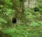 Ulaz u okna starog rudnika u Gronjoj Borini